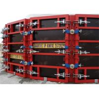 Quality Painted Concrete Slab Formwork Systems Circular Column Formwork High Turnover Frequency for sale