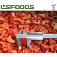 Quality frozen red pepper for sale