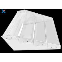 clear Acrylic Display Stands for Maternal and Child Shop Supermarket Convenience Store Snacks Shelf Trapezoidal