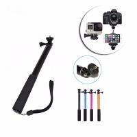 Quality Portable 30cm-98cm CNC GoPro Monopod Handheld Extendable Selfie Stick For Go Pro Hero 4 3+ 3 2 1 for sale
