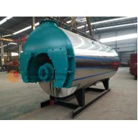 China Small Size Gas Fired Hot Water Boiler / Fire Tube Boiler And Water Tube Boiler on sale