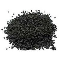 Quality Durable Black Colored Rubber Granules For Playground Abrasive Resistance for sale