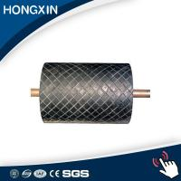 Quality high wear resistant conveyor pulley diamond grooved lagging manufacturer for sale