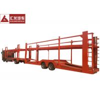 Quality New Design Vehicle Transport Trailer Highly Reliable 2 Axles With Cummins Engine for sale