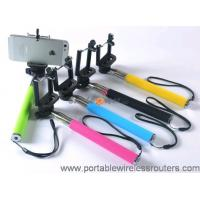 Quality Colorful Mobile Phone Accessories / Smartphone Monopod Selfie Take Pole Z07-1 for sale