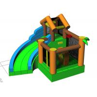 Buy Customized Castle Inflatable Bounce House Combos With Jump And Slide at wholesale prices