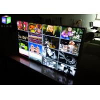 Quality Movie Poster Fabric Slim Aluminum LED Light Box Display Board Low Power Consumption for sale