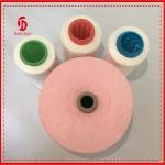 Quality 100% Polyester spun yarn virgin dyed 40/2 , 100 Polyester spun yarn for sale
