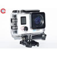 Quality Allwinner V3 Wifi Action Camera Dual Screen for sale