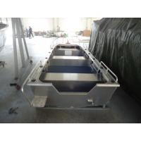 Quality All Welded Aluminum Fishing Boats , V Hull Fishing Boat 14 Feet SGS Listed for sale