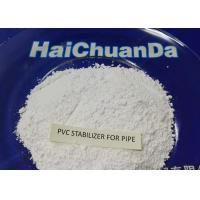 Quality White Powder Heat Stabilizer For PVC Pressured Pipe , Environmentally Friendly for sale