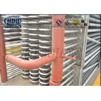 Quality Bare Tube Type Stainless Steel Boiler Economizer With Headers SCR System Recovery Flue Gas for sale