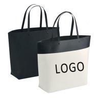 Quality Customized Logo Bucket Shape Paper Bag with Plastic Handle 250x270x100mm for sale