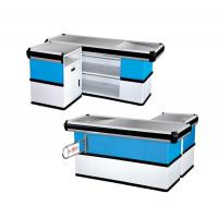 Quality Durable Retail Cash Wrap Counter Easy To Assemble And Dismantle For Grocery for sale