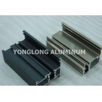 China Colorful High Hardness Curtain Wall Aluminum Profiles Wear Resistance on sale