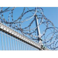 Quality Manufacturer BTO-22 Galvanized Stainless Steel Military Concertina Razor Wire for sale
