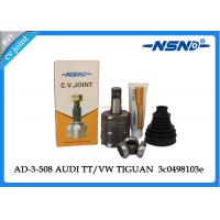 Quality AD-3-508 Inner Drive Shaft Cv Joint Customized Size For Audi Tiguan for sale
