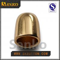 Buy cheap 2016 new design Eco-friendly high polished gold ending for the garments from wholesalers