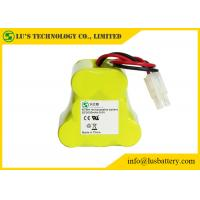 China 9.6 Volt Rechargeable Battery Pack , 3000 Mah NIMH Battery Customized Color on sale