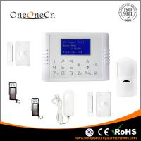 Quality 30 Wireless Zones white GSM and PSTN Dual Module Security Alarm System for sale