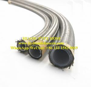 Quality PTFE hose / Teflon hose / SAE 100 R14 hose / Chemical transfer hose / Chemical resistance hose for sale