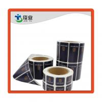 China Custom Made Self Adhesive Printing Labels Stickers with Round Corner on sale