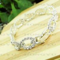 Quality Fashion Jewelry Alloy with Crystal Bangle/Bracelet Ljh0032 for sale