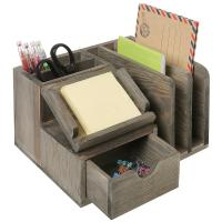 Quality Student Neat Wood Desk Organizer Accessories Mdf Multi Functional for sale