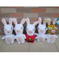 Quality Lovely Rayman Raving Rabbids Cartoon Plush Toys White Cute Custom for sale