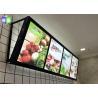 Buy cheap Fast Food LED Menu Board , Wall Mounted Slim A2 Light Box Menu Boards Aluminum from wholesalers