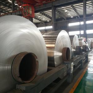 Quality Jumbo Roll Industrial Aluminum Foil Rolls For Radiator Pharmaceutical Package for sale