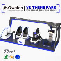Quality Entertainment project design vr equipment Coin System VR theme park ride for sale