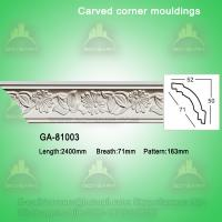 Quality Natural home decoration pu cornice board ideas for sale