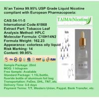 Quality Xian Taima 1000mg/ml PURE NICOTINE - Xian Taima pure nicotine and concentrate flavors for e liquid for sale