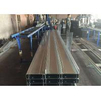 Quality Light Steel Construction Materials / Steel Building Materials With Galvanized C Z Purlin for sale