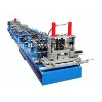 Buy cheap Auto CZ Purlin Channel Forming Machine With Pre Cutting and Punching Holes from wholesalers
