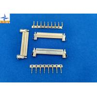 Quality 1 Row LVDS Display Connector , Wire To Board Connector 1.0mm Exact Size Equivalent for sale