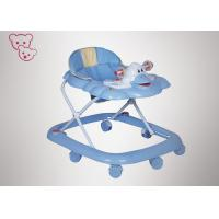 Quality Square Base Compact Baby Walker , Easy Folding Convertible Baby Walker for sale