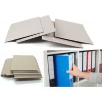 Quality Uncoated Laminated Grey Board Paper Bookbinding For Book Cover Moisture Proof for sale