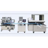 China Encrusting Bread Making Machine , Industrial  Bread Making Equipment Computer Control on sale