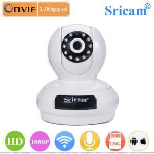 Quality sricam SP019 3.6mm camera ip onvif 2 ways audio wireless wifi pt ip camera for sale