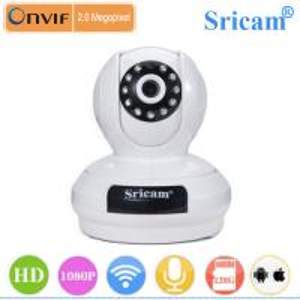 Quality Sricam SP019 Indoor Use Cmos Sensor 2 Way audio 1080p full ip camera hd for sale