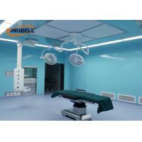 Quality Laboratory Modular Clean Room Glass Wall Plate Easy To Clean For Doctors And Nurses for sale