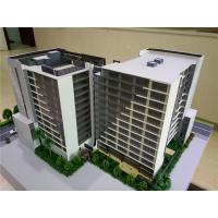Quality Miniature Scale Apartment Building Model Acrylic Plastic Material 1 . 2 * 0 . 8M for sale