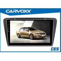 Quality Skoda Octavia  GPS Car Stereo Sat Nav With Touch Screen Support rear camera input for sale