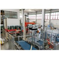 Buy cheap Blue Food Sterilization Equipment Glass Bottles Palletizer 12000 Bottles / Hour from wholesalers