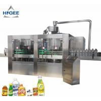 Buy cheap Automatic Carbonated Beverage Filling Machine / Liquid Filling Machine For PET from wholesalers
