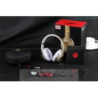 Beats By Dr. Dre Studio Champagne Wireless Over-Ear Headphones Made in China from grglaser