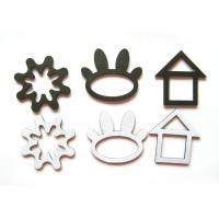 Quality Cute Rubber Magnet Sheets for Kids / Blank White Personalized Fridge Magnet for sale