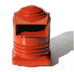 China Switchgear Spout Epoxy Resin Cast Bushing Insulation Contact Box 10kV 2500A on sale